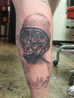 Beksinski tribute calf by tatuato