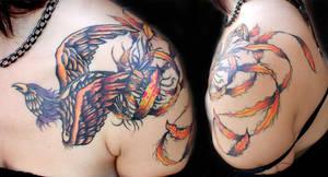 Jen's phoenix by tatuato