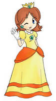 Princess Daisy by shamisen