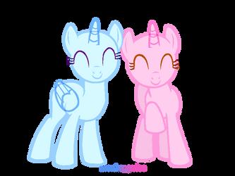 Duo Base! by artgrrlee