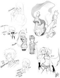 GoA Sketch Dump by Lanmana