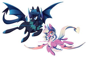 Succubus/Incubus Pony Auction (CLOSED) by Lanmana