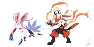 Poke Fusions by Lanmana