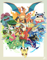 Pokemon 20th Anniversary! by Lanmana