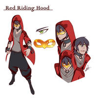 Red Riding Hood by Lanmana