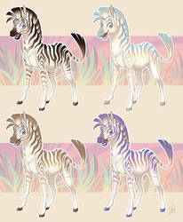 Zebras by Lanmana