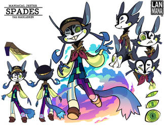 Spades Reference Sheet by Lanmana