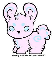 Cotton Candy BunBun Adopt (CLOSED) by KasaneYumi
