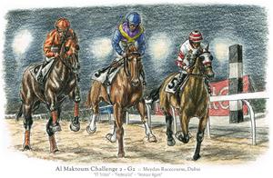 Honour :: Al Maktoum Challenge - 2nd by MistyofSunrise