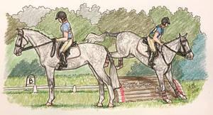 Sabrina :: Woodloch Eventing Derby by MistyofSunrise
