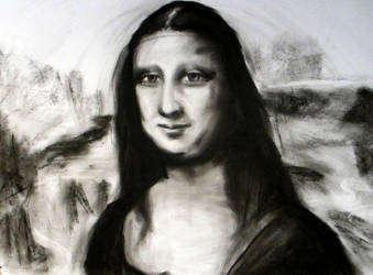 Mona Lisa v1 by HoffDavid