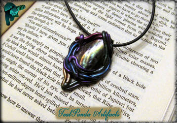 Event Horizon pendant by TealpandaArtifacts