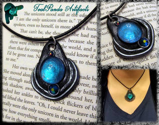 Amalthea pendant by TealpandaArtifacts