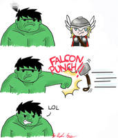 Falcon Punch by MagzM