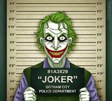 Gotham City Mugshots - Joker by Costalonga