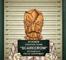 Gotham City Mugshots - Scarecrow by Costalonga