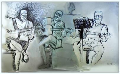 3 guitars by altergromit