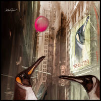 Penguins come to town by altergromit