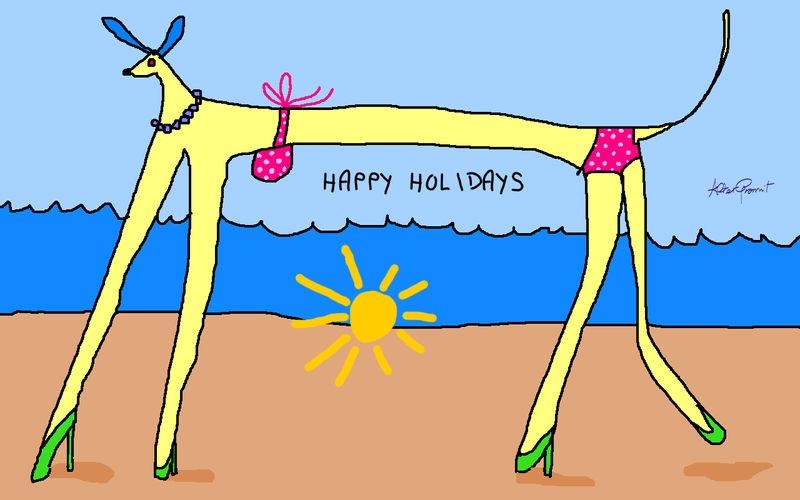 Happy Holidays by altergromit