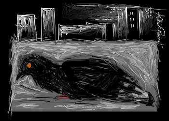 Pigeon in town by altergromit