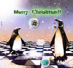...penguins' Merry Xmas by altergromit