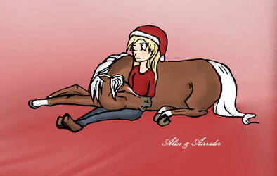 Alice Winterbell n' Airrider - Star Stable Online by AliceWinterbell