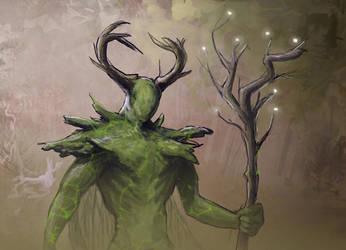 Plant Sorcerer by BEN-BEN-BEN