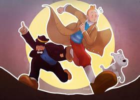 Tintin: Adventuuurr by MaGeHiKaRi
