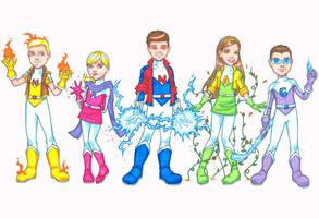 Kids Kommissions by JamieFayX
