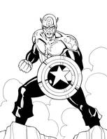 Captain America by JamieFayX