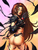 Witchblade - Colored by JamieFayX