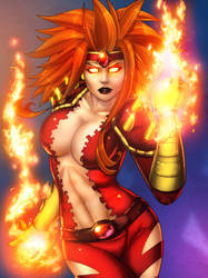 Fire Brandi - Colored by JamieFayX