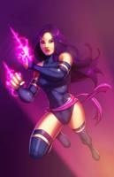 Psylocke - Psychic Ninja by JamieFayX