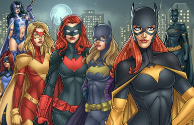 BatLadies by JamieFayX