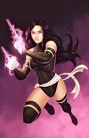 X-Force Psylocke by JamieFayX