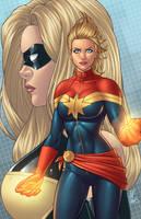 Captain Marvel - Legacy by JamieFayX