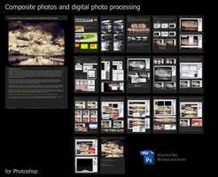 Digital photo editing by Merkulov