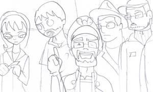 Sketch Kickassia by toongrowner
