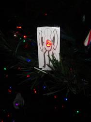 Portal Turret Christmas Tree Decoration by Pandora180180