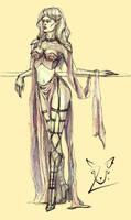 Priestess by ULarka