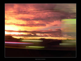 Japanese Sunset via Densha, p1 by endless-sky