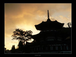Sunset at Koyasan by endless-sky