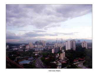 Kuala Lumpur City Sky by endless-sky