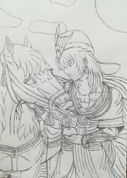 Dessert-Travellers(Sketch) by Wulfsista