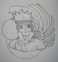Ashura(DooM-Sketch) by Wulfsista