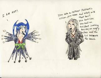 No. 70 Sephiroth vs. Seymour by Midorii-kiri