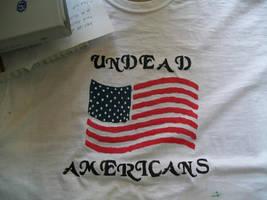 Undead American t-shirt by Midorii-kiri
