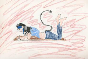 Drawing by Midorii-kiri