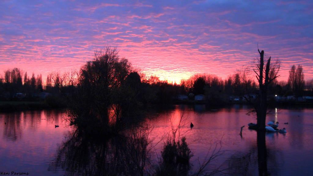 Aquadrome Sunset 17 by nosuchthingasnothing