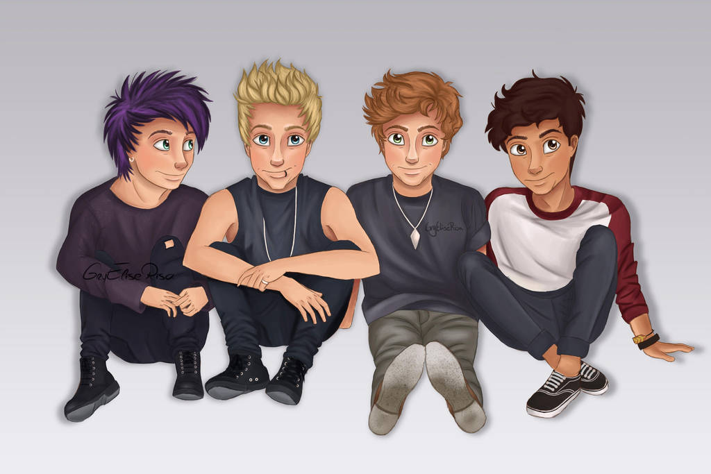 5 Seconds Of Summer Amnesia By Itsrisa